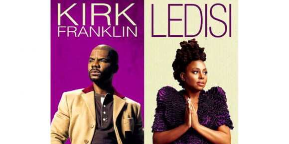 Kirk Franklin, Ledisi & PJ Morton at DAR Constitution Hall