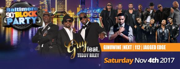 90s Block Party: Guy, Teddy Riley, Ginuwine & Jagged Edge at DAR Constitution Hall