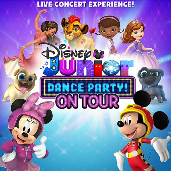 Disney Junior Dance Party at DAR Constitution Hall