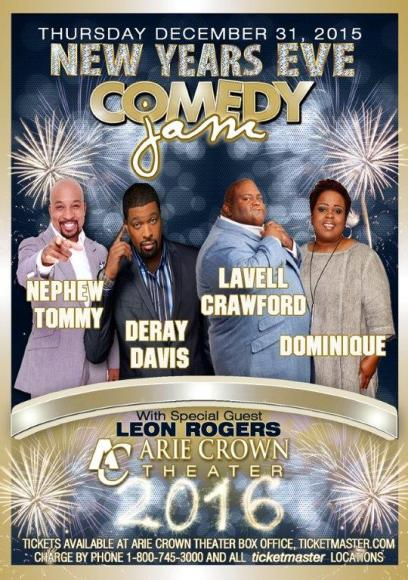 New Year's Comedy Jam at DAR Constitution Hall