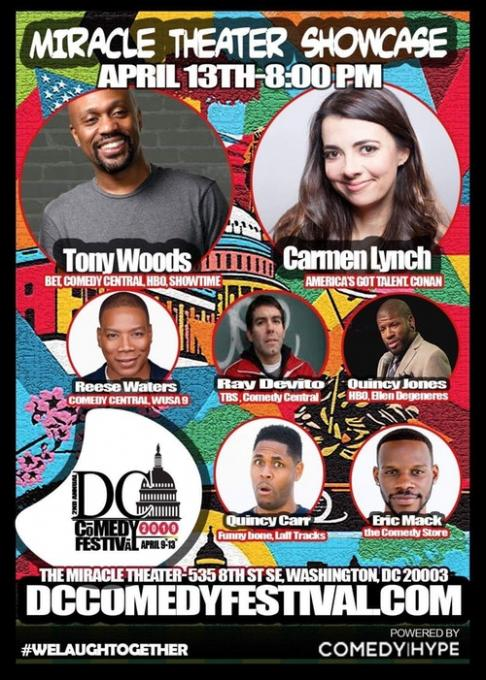 DC Comedy Jam at DAR Constitution Hall