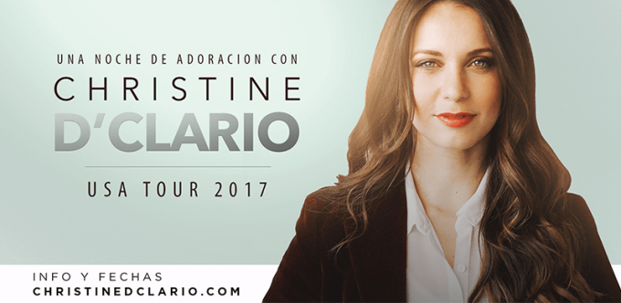 Christine D'Clario at DAR Constitution Hall