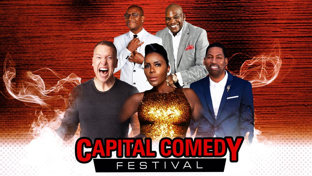 Capital Comedy Festival: Gary Owen, Tony Rock, Tommy Davidson & Don DC Curry at DAR Constitution Hall